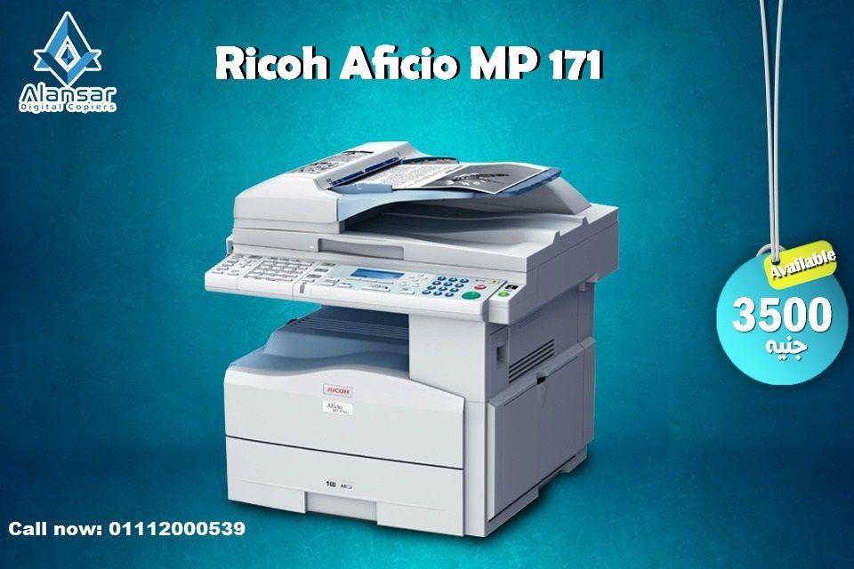 الماكينة Ricoh Aficio Mp 171 ماكينة تصويرالمستندات A4 أبيض وأسود Washing Machine Printer Laundry Machine