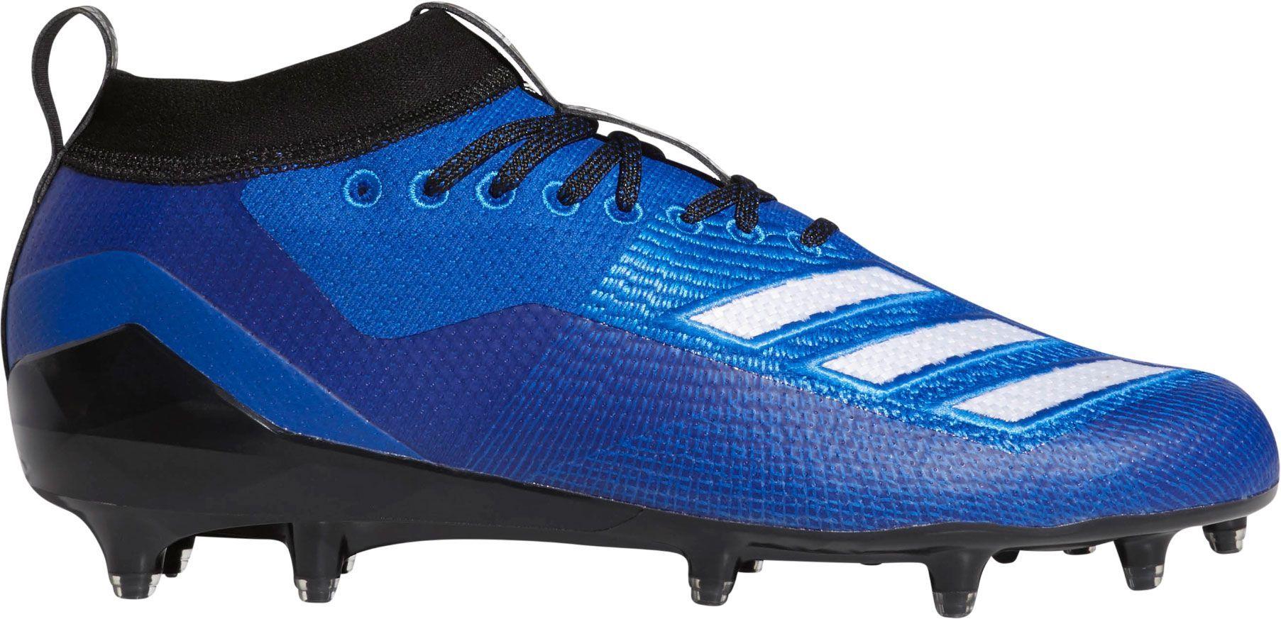official photos 881ad 75a77 adidas Men s adizero 8.0 Burner Football Cleats, Size  15.0, Blue