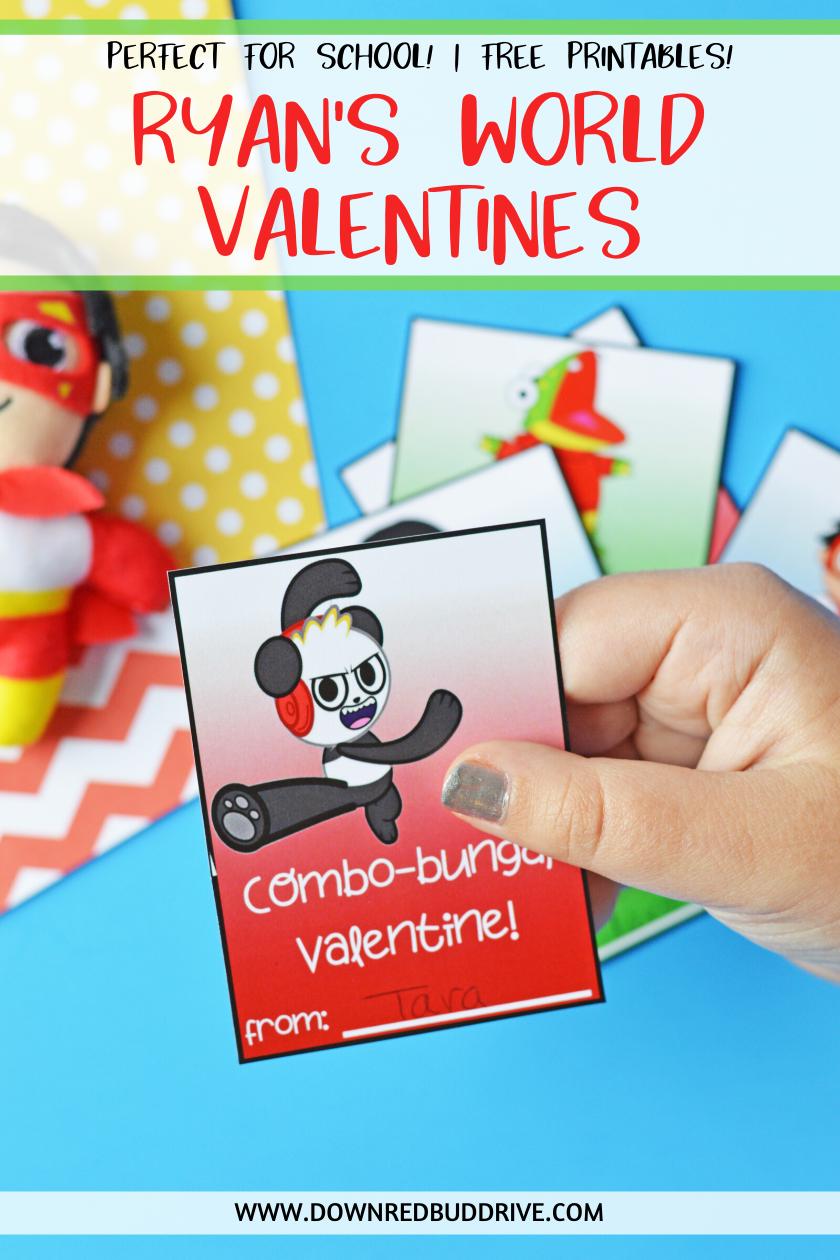 Ryan S World Free Printable Valentines In 2020 Valentines Printables Free Valentines Printables Valentines
