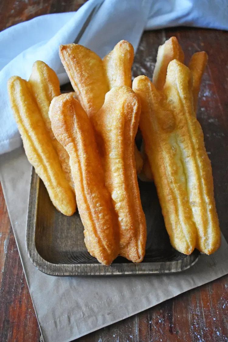 Fried Bread Sticks - Dau Chao Quay - You Tiao - Scruff ...