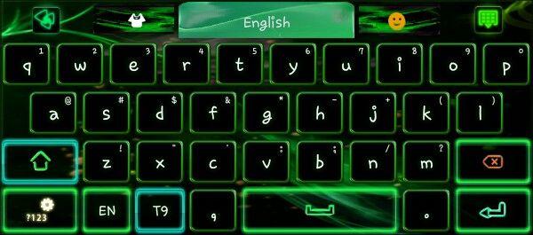 Flame green go keyboard really cool | keyboards | Keyboard