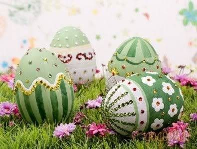 5 dicas de Ovos Decorativos Páscoa