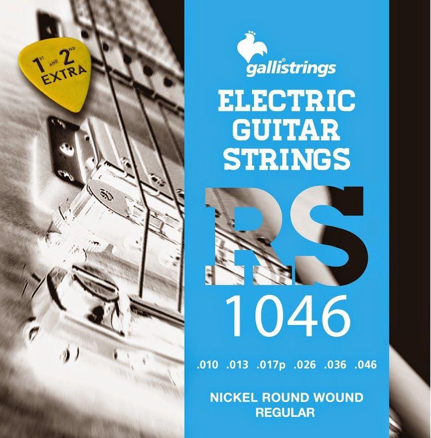 Rs Nickel Electric Guitar Strings Nickel Plated Steel Round