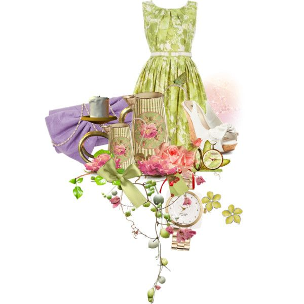 Tea Time, created by eblanchard1 on Polyvore