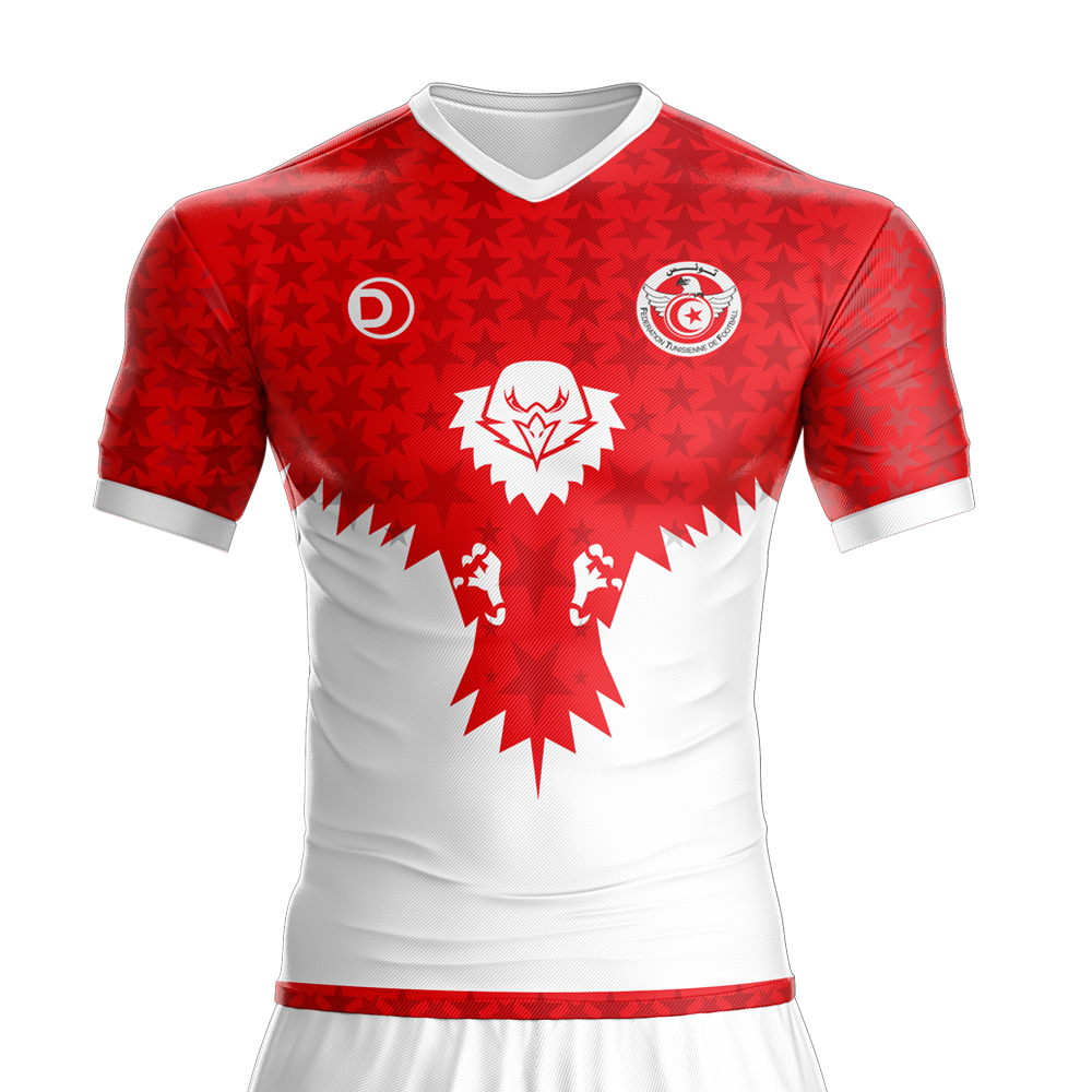 Tunisia Home Jersey  1bfd609c2