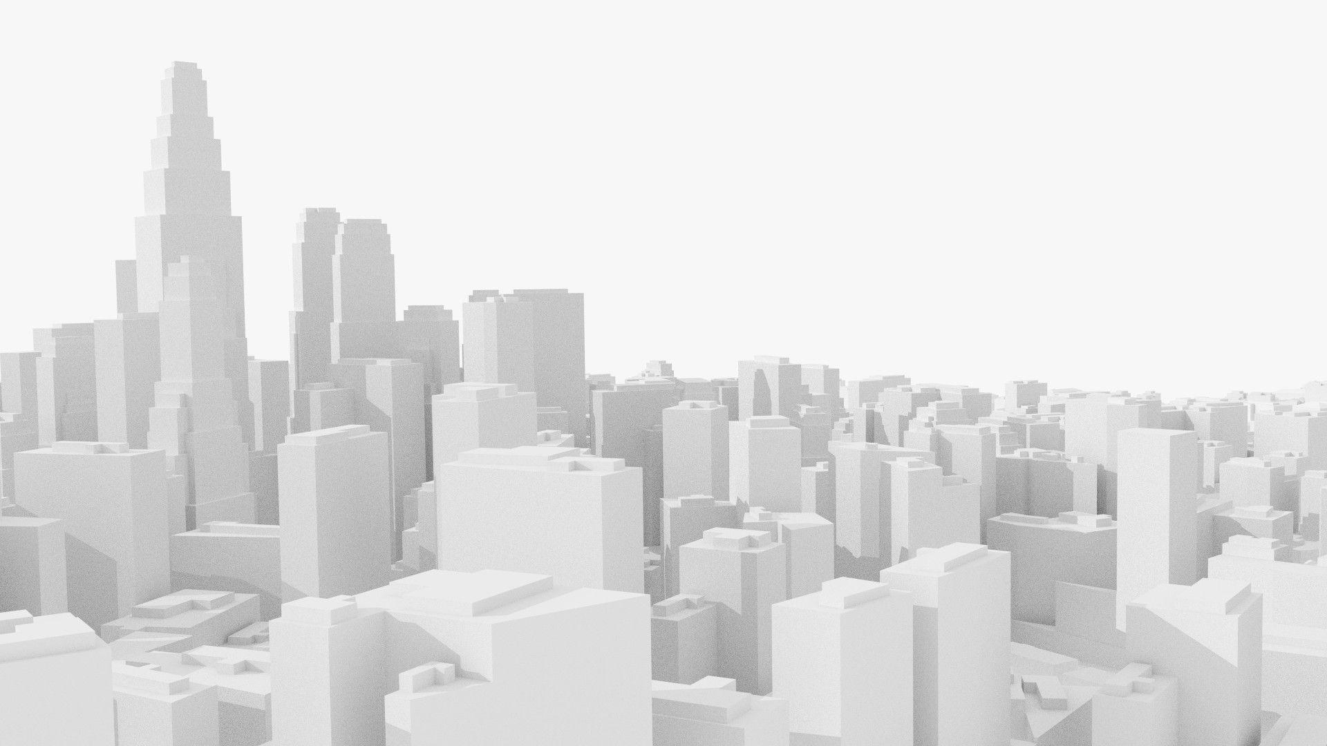 3d City Ready Games City San Francisco Skyline Skyline