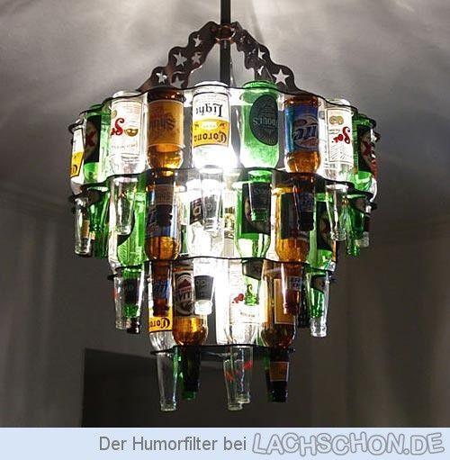 Flaschenleuchter Kronleuchter Kreativ Flaschen Lampe Licht