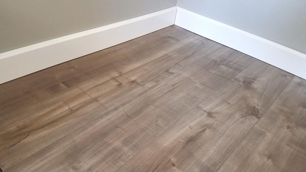 Sample Of Warm Sandy Grey Laminate Flooring For Any Home Vesterbro 8mm Ebay Grey Laminate Flooring Flooring Warm Gray Flooring
