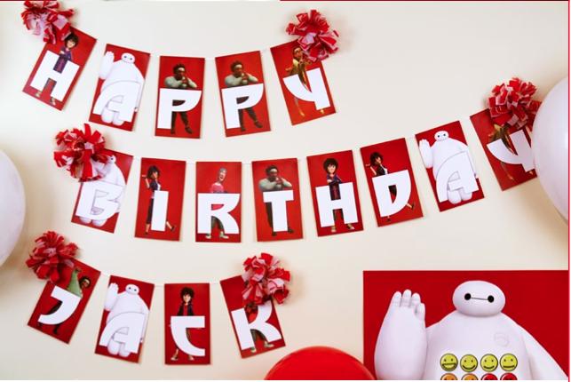 Big Hero 6 Birthday Party Ideas Free Printables