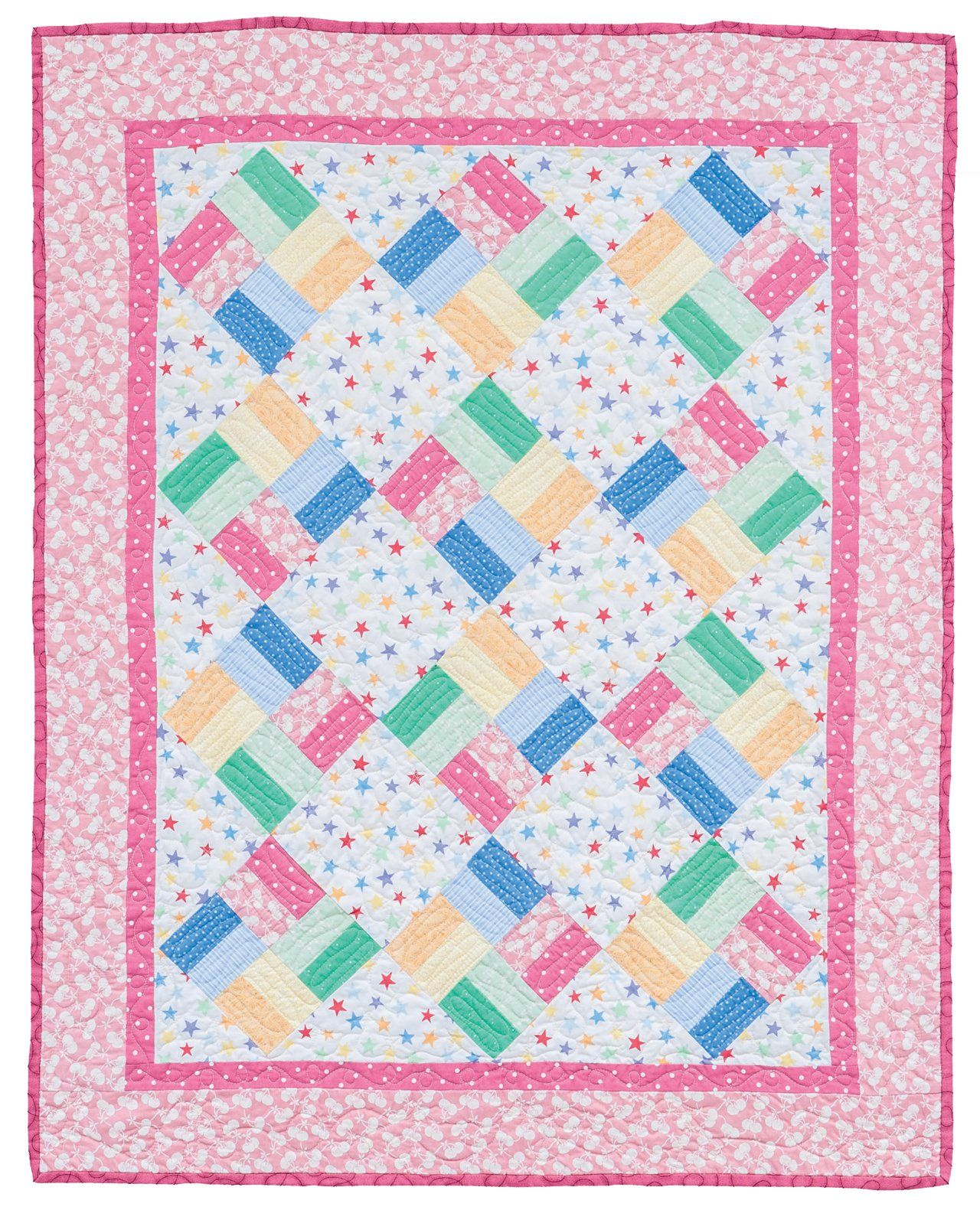 Fast and fun baby quilts make it martingale that for Patchwork quilt book