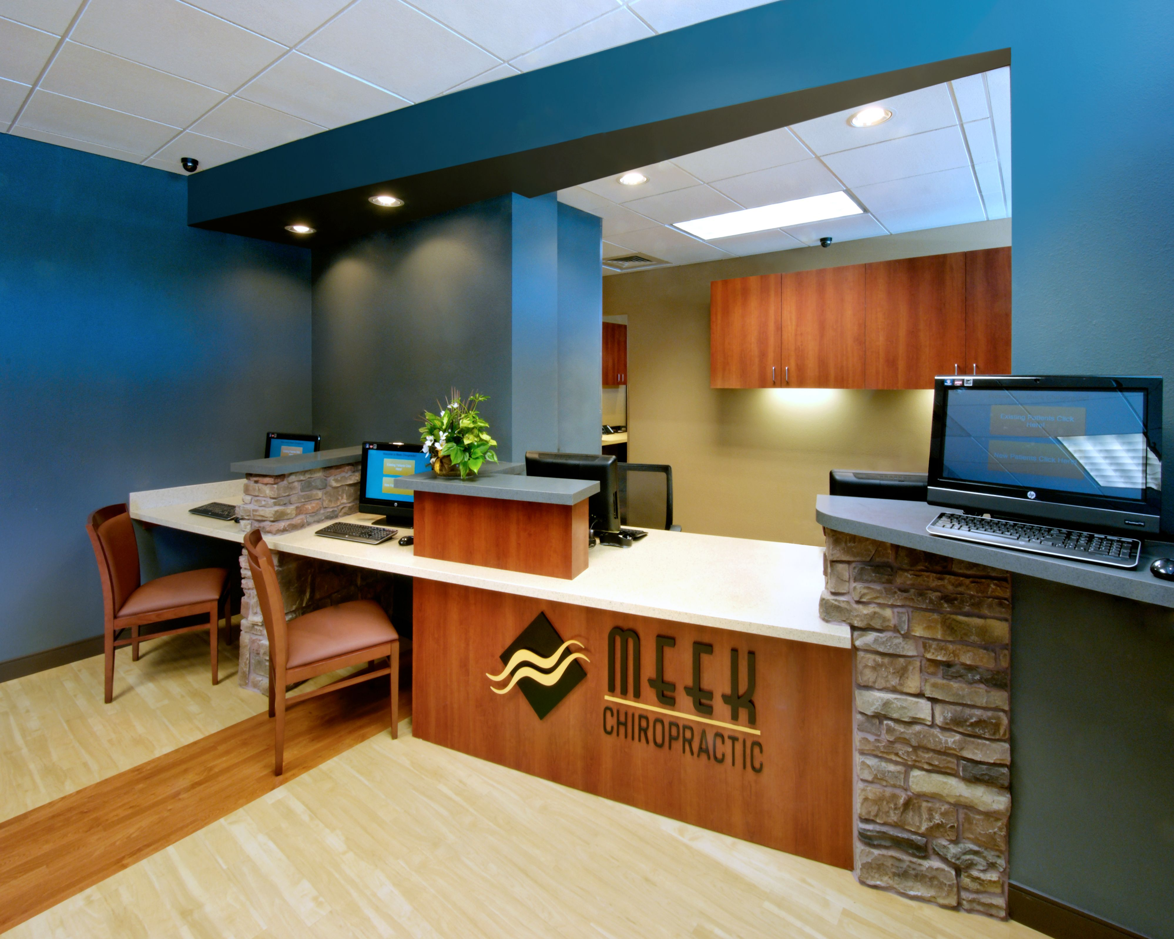 Meek Chiropractic Office Infill Medical office decor