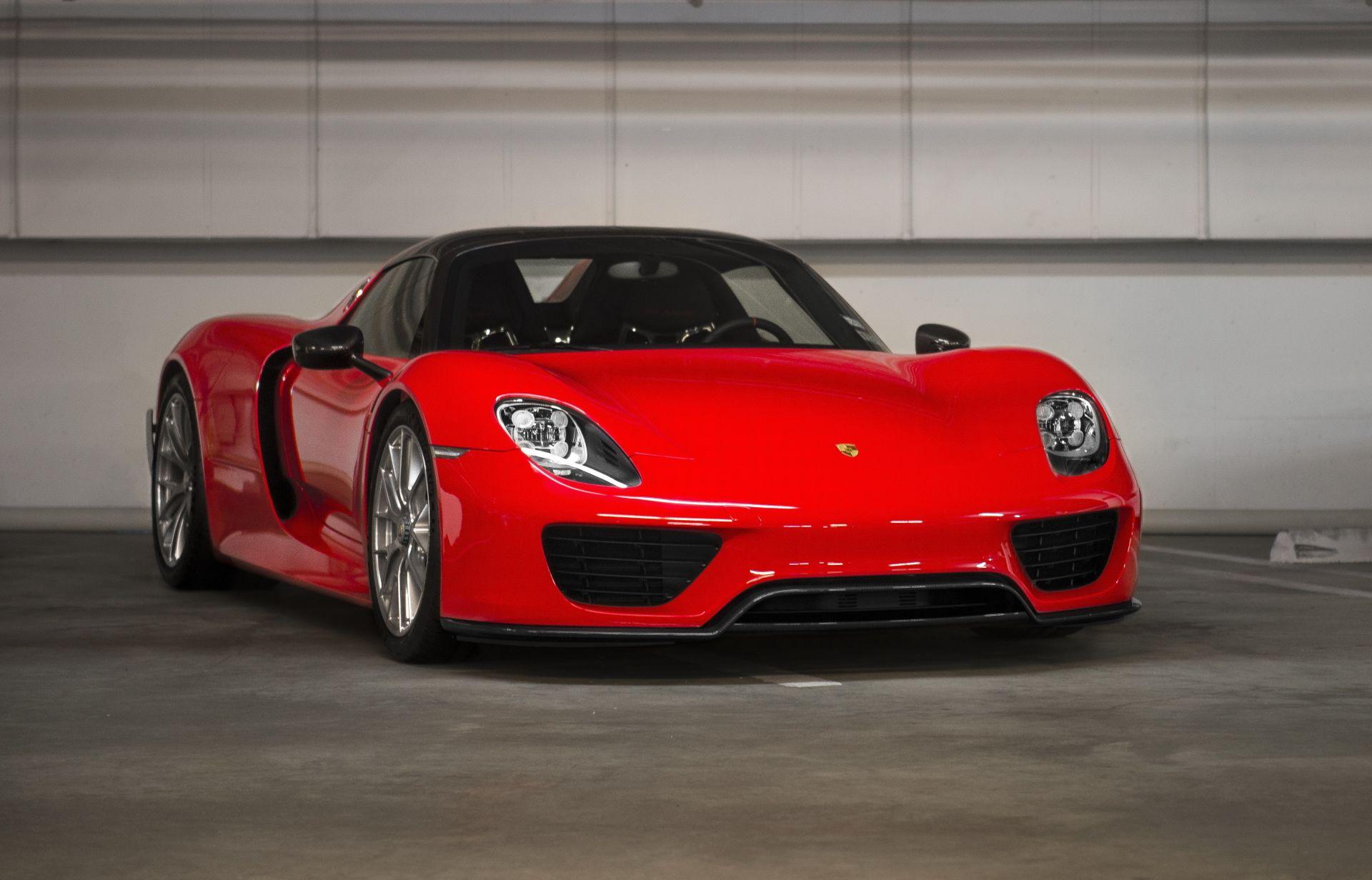 Vehicles Porsche 918 Spyder Porsche Car Supercar Vehicle Red Car Wallpaper Porsche 918 Porsche Porsche Car