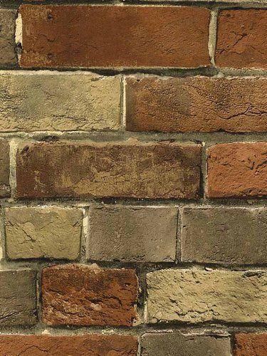 Robot Check Faux Brick Walls Faux Brick Brick Wall Wallpaper