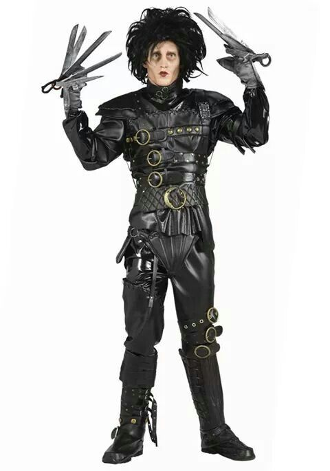 Edward Scissorhands Halloween Costumes Men Halloween Outfits  sc 1 st  Pinterest & Pin by Tammy Brown on Movie pics | Pinterest | Movie
