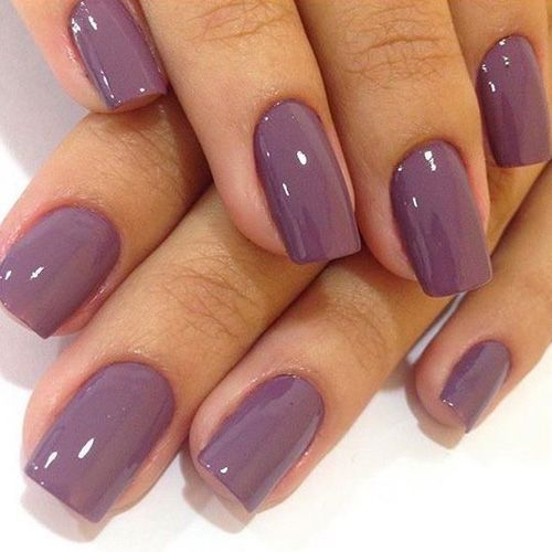 42 Amazing Nail Color For Spring Summer 2019 Mauve Nails
