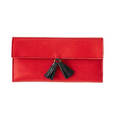red and tassel