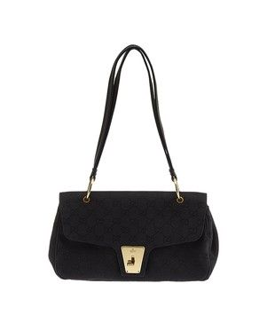 a380ba60c977 Get one of the hottest styles of the season! The Gucci Gg Canvas   Leather  (26969) Shoulder Bag is a top 10 member favorite on Tradesy.