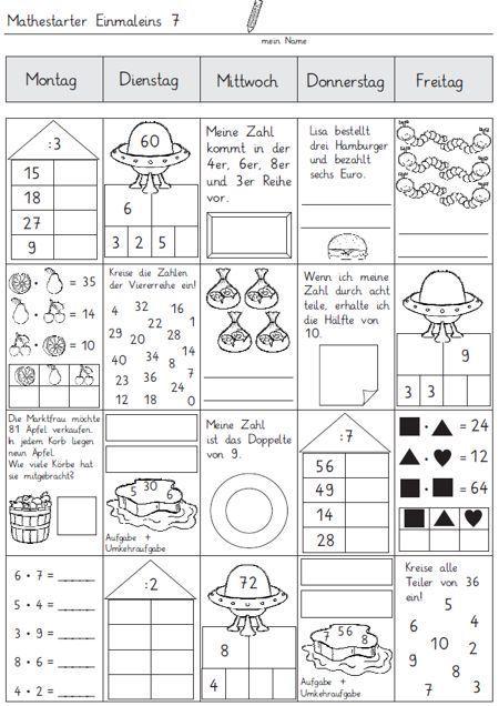 mathestarter 1x1 woche 7 und 8 zaubereinmaleins designblog szorz t bla wiskunde. Black Bedroom Furniture Sets. Home Design Ideas