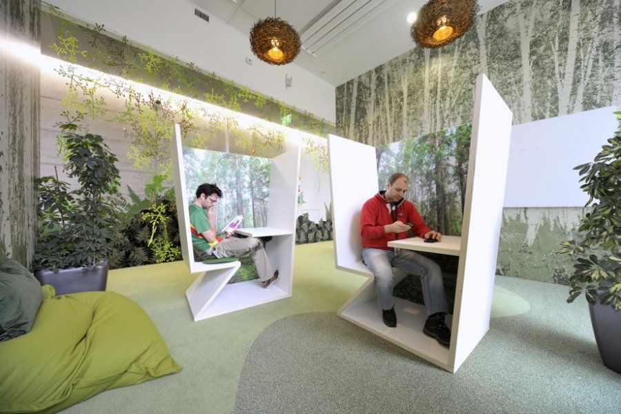 This Is A Weird Seat For Working In Creative Office Space