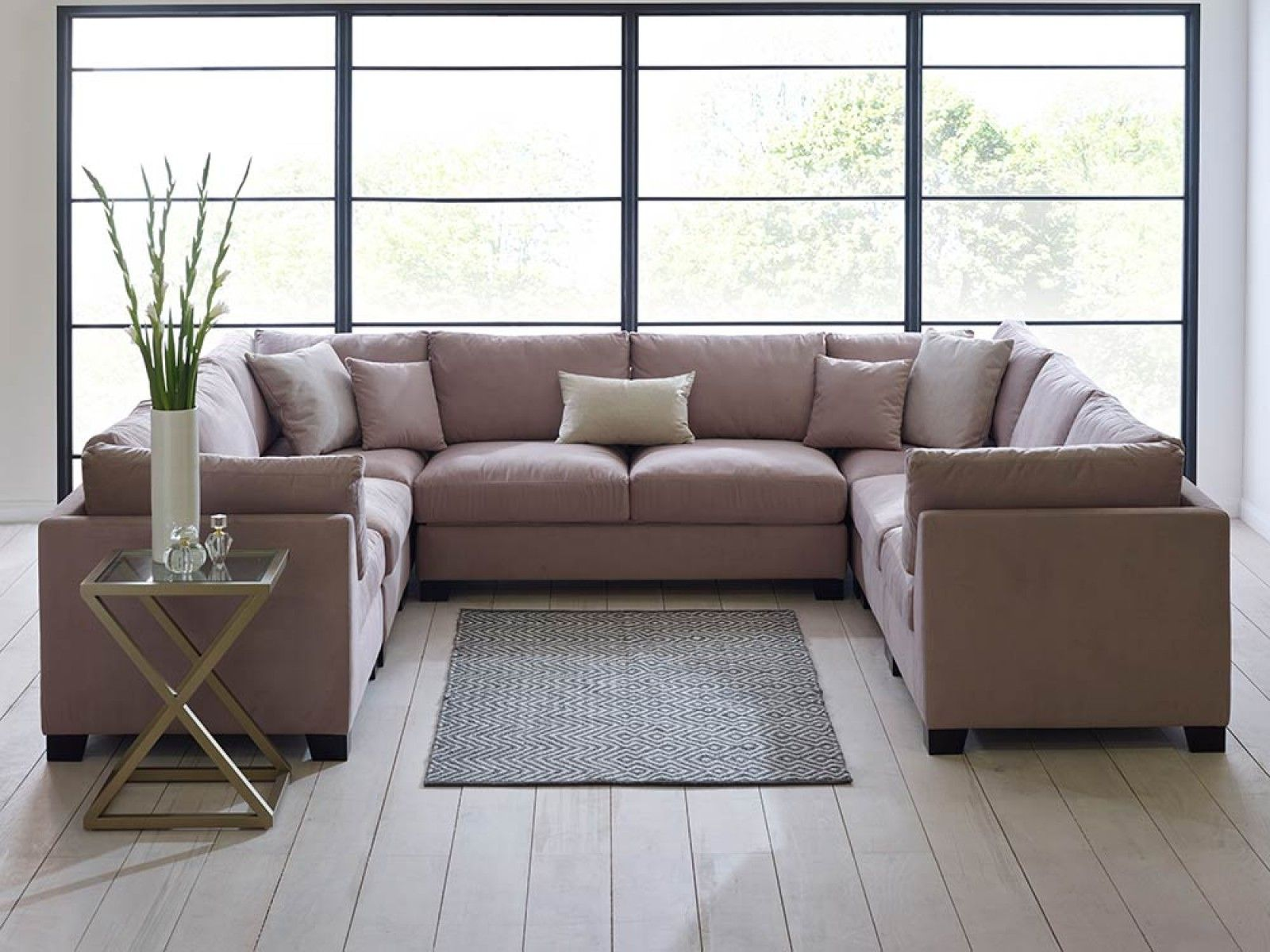 U Couch Isabelle U Shaped Sectional Sofa Set Liu Unconventional Spaces