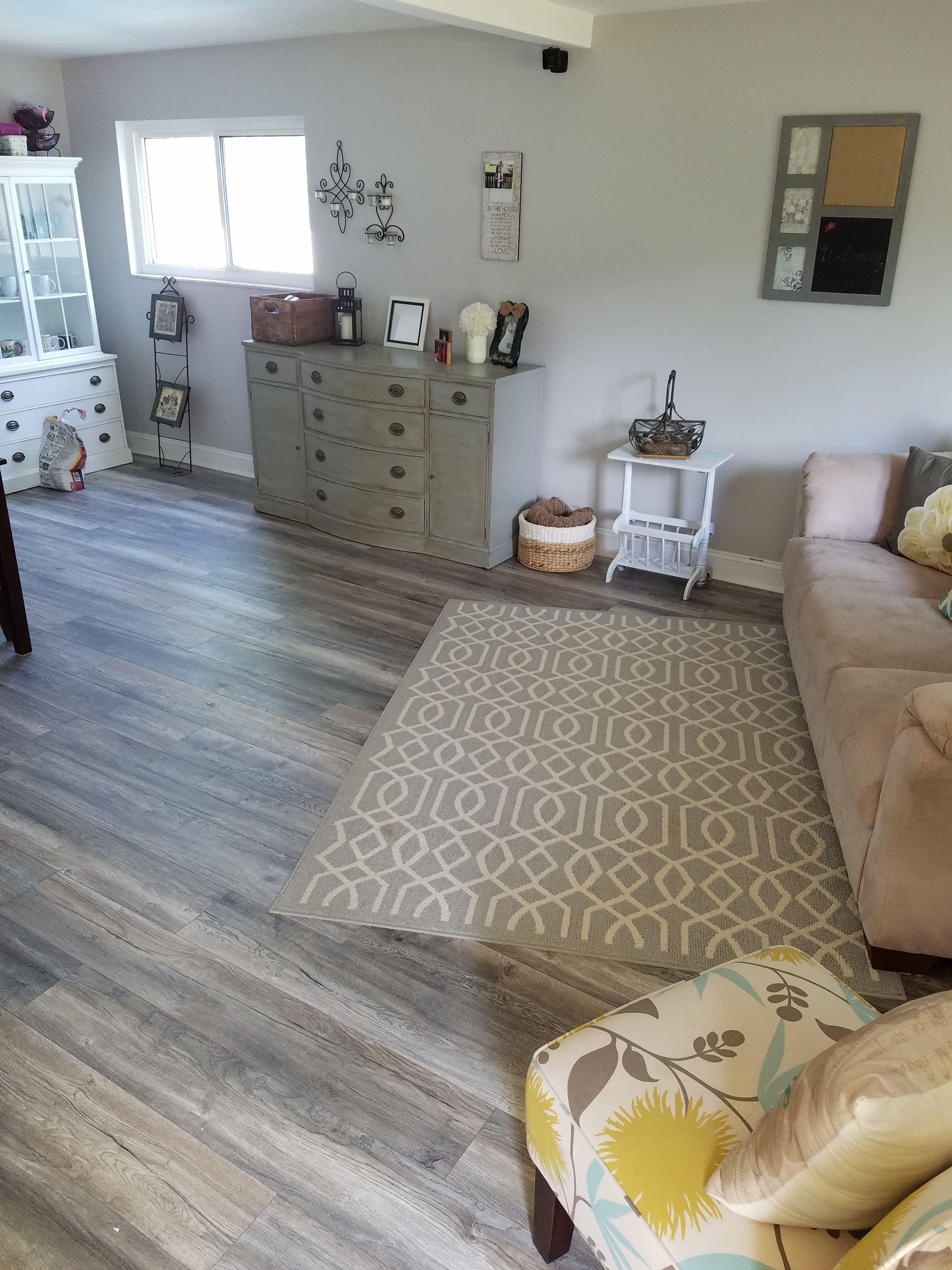 Builddirect Toklo By Swiss Krono Laminate My Floor Villa 12 Mm Collection Flooring Grey Flooring Rustic Living Room