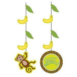 Monkeyin' Around Cutouts | Animal party decorations ...