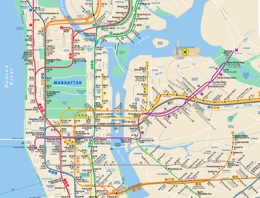 Chelsea Subway Map.Tips For Riding The Nyc Subway System Nyc Paris Map Paris Metro