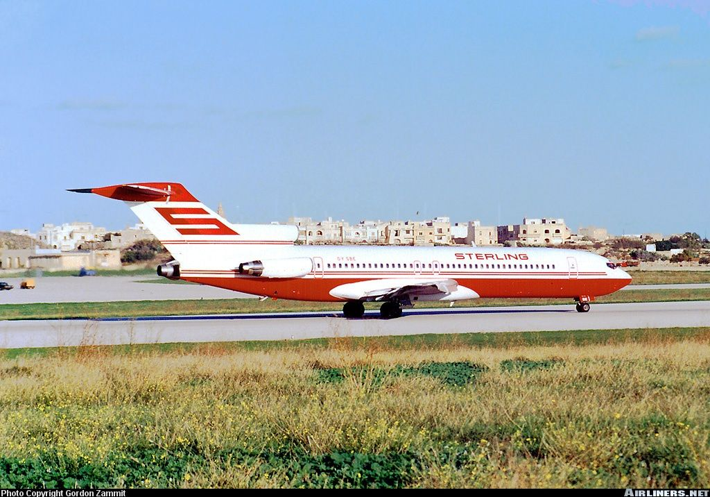 Sterling Airways Boeing 7272J4/Adv OYSBE at Luqa Malta