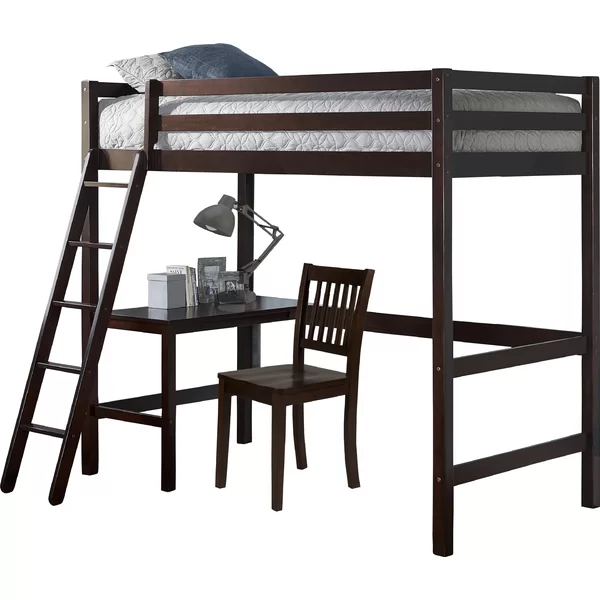 Twin Loft Bed With Chair Twin Loft Bed Hillsdale Furniture Loft Bed