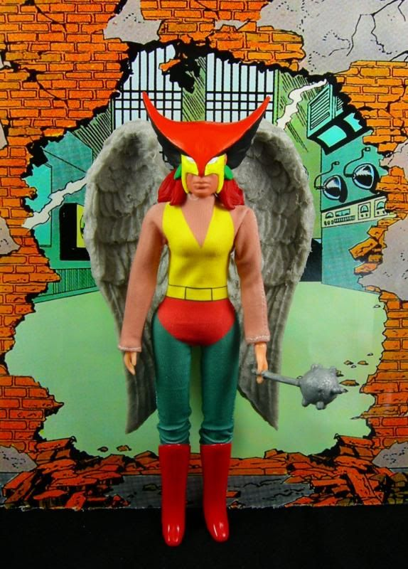Custom Hawkwoman Mego