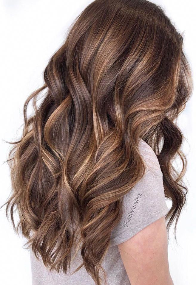 49 Beautiful Light Brown Hair Color To Try For A New Look Gorgeous Balayage Hair Color Ideas B Hair Color Light Brown Brunette Hair Color Brown Hair Balayage