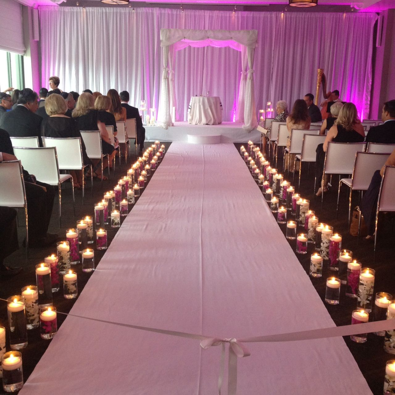 wedding ceremony decorations 29th, 2012 in ceremony Wedding Aisle Runner Decorations we had a gorgeous wedding at the w hotel a few weeks ago we did all of the flowers, aisle decor, aisle runner, step, stage cover and wedding coordination wedding aisle runner decorations