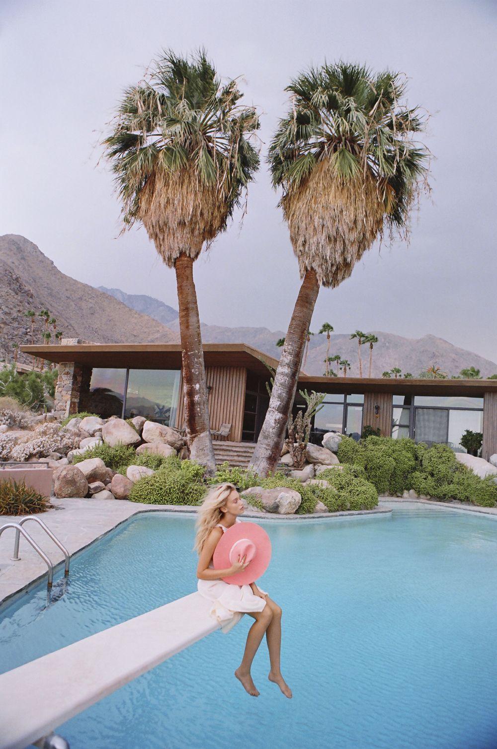 Lack of Color hats, 'Las Palmas' Summer 2016 Collection Cailin wears Montana Sunset Palms Shot by Jason Lee Parry