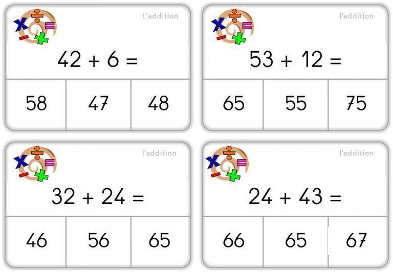 ateliers-autonomes-additions | Calcul ce1, Jeux mathématiques ce1 et Ce1