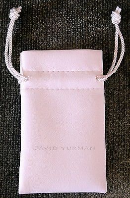 Authentic David Yurman Small Padded Jewelry Pouch - http://designerjewelrygalleria.com/david-yurman/authentic-david-yurman-small-padded-jewelry-pouch/
