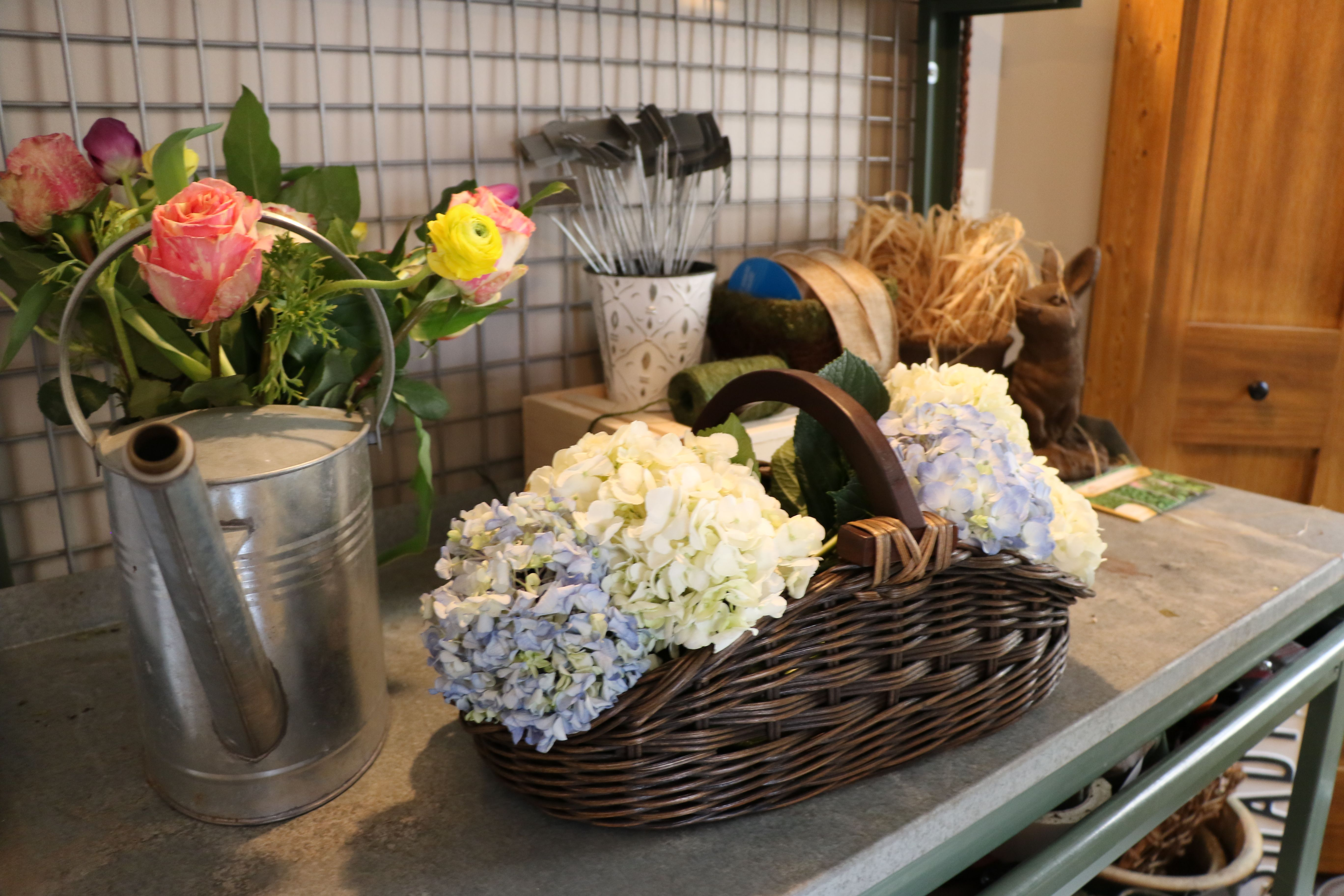 Dress up the kitchen with some fresh flowers