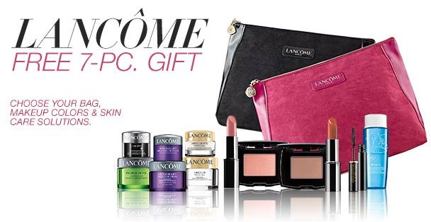 Lancome Gift with purchase (GWP) in September 2016