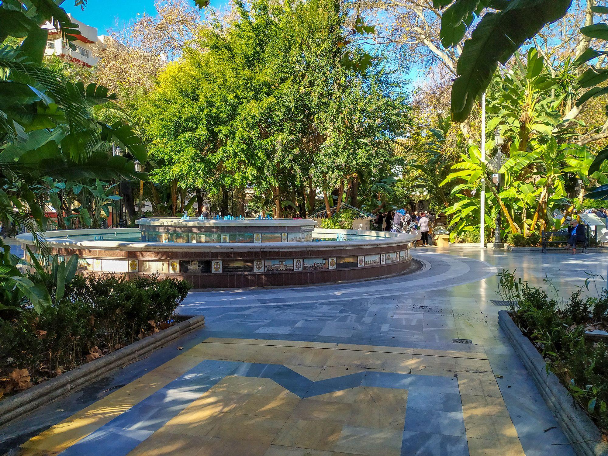 Parque de la Alameda, Marbella