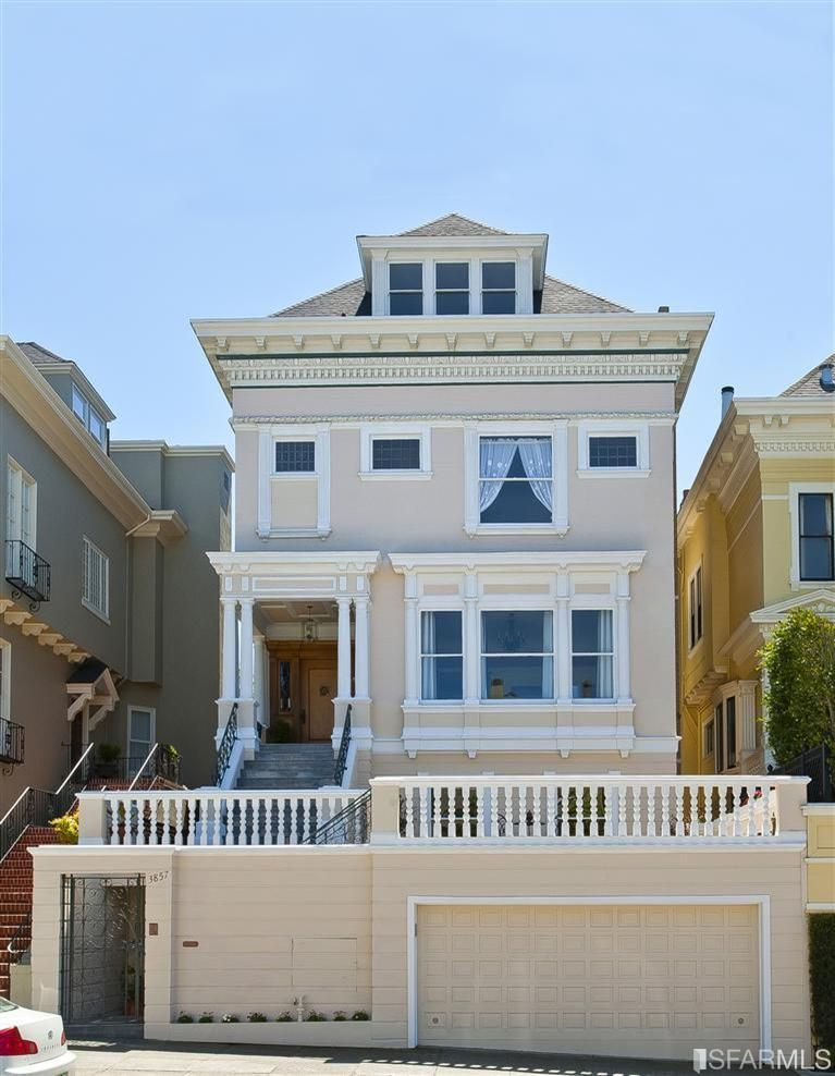 This bright 7 bedroom 7 bath home offers unique artisian for Houses in san francisco