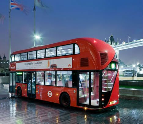 london brings the double decker bus into the future. Black Bedroom Furniture Sets. Home Design Ideas