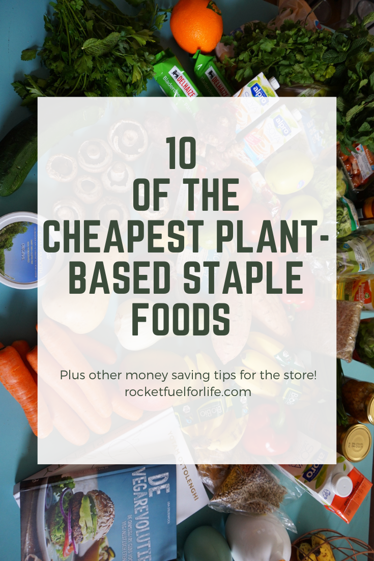 Wfpb On A Budget 10 Dirt Cheap Staple Foods You Should Be Eating Healthy Plant Based Recipes Plant Diet Diet Grocery Lists