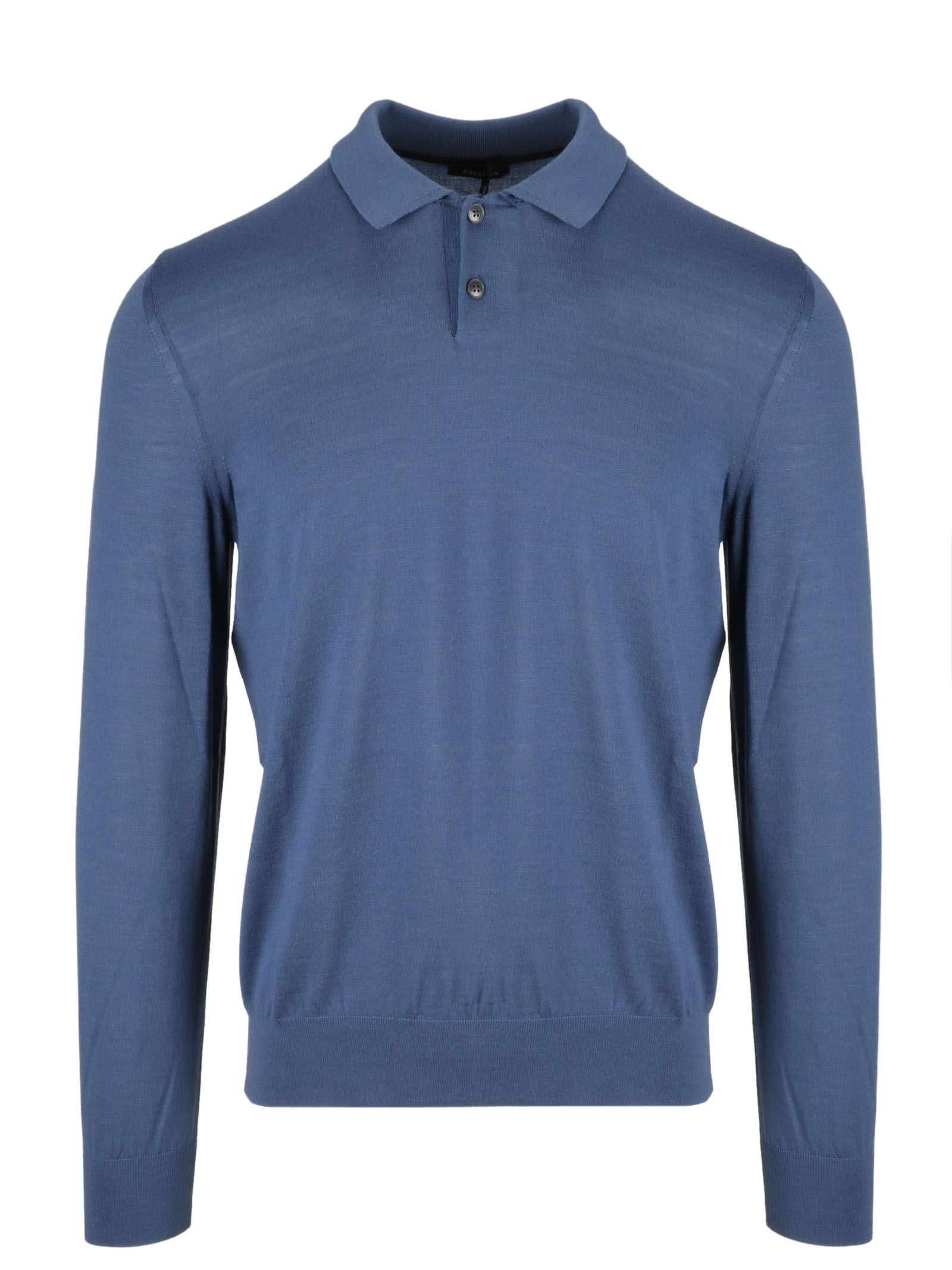 86a4f7ada0585 Z ZEGNA LONG SLEEVE FITTED POLO SHIRT. #zzegna #cloth | Z Zegna ...