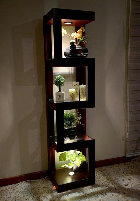 Beautiful Lit Curio.. Perfect for growing plants or showcasing accessories