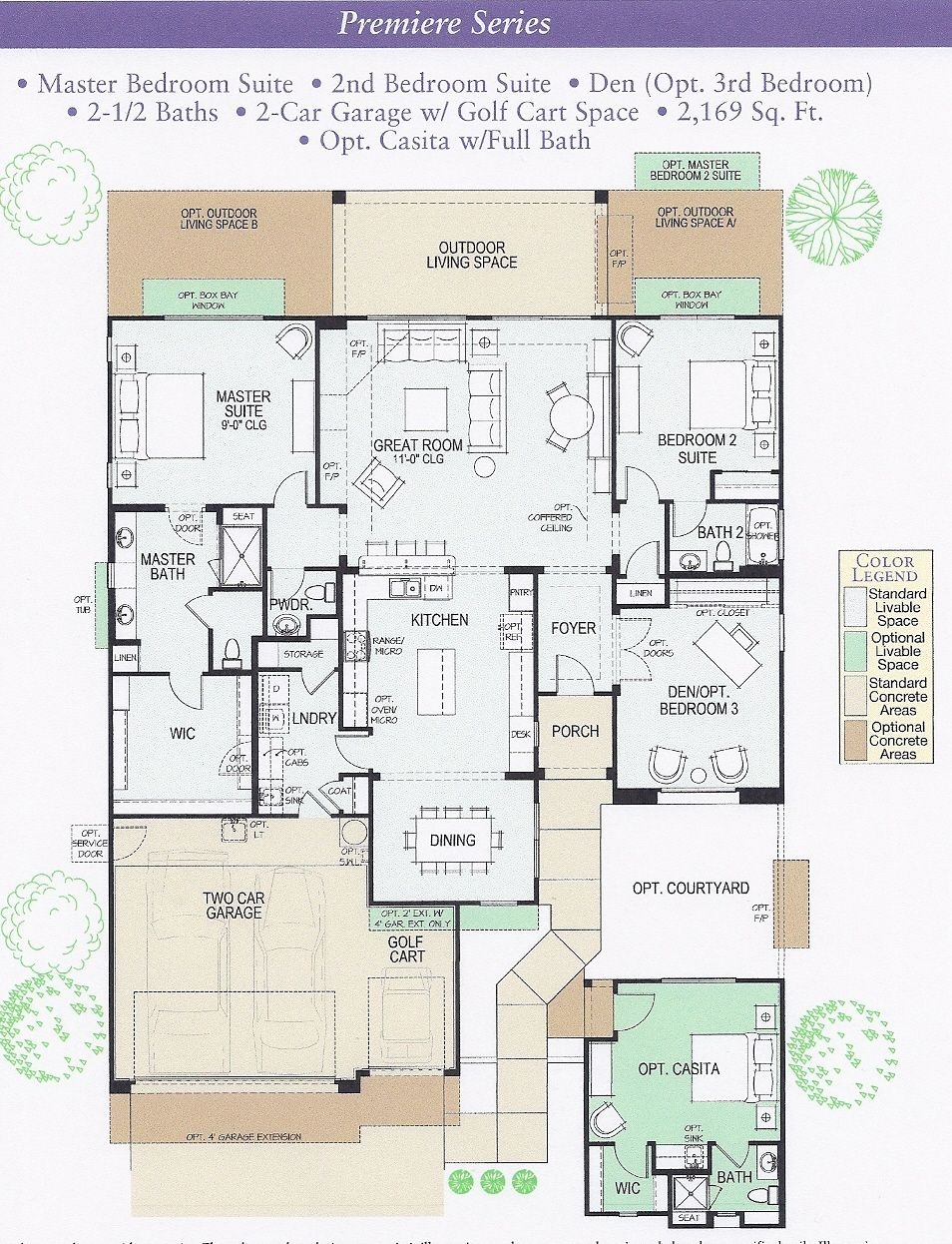 ranch floor plans | Robson Ranch Cameron Floor Plan | floorplans ...