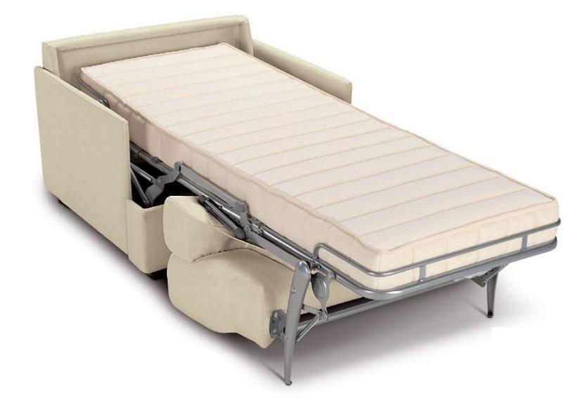 Semp lice poltrona letto robusta solida facile da for Poltrone e sofa punti vendita