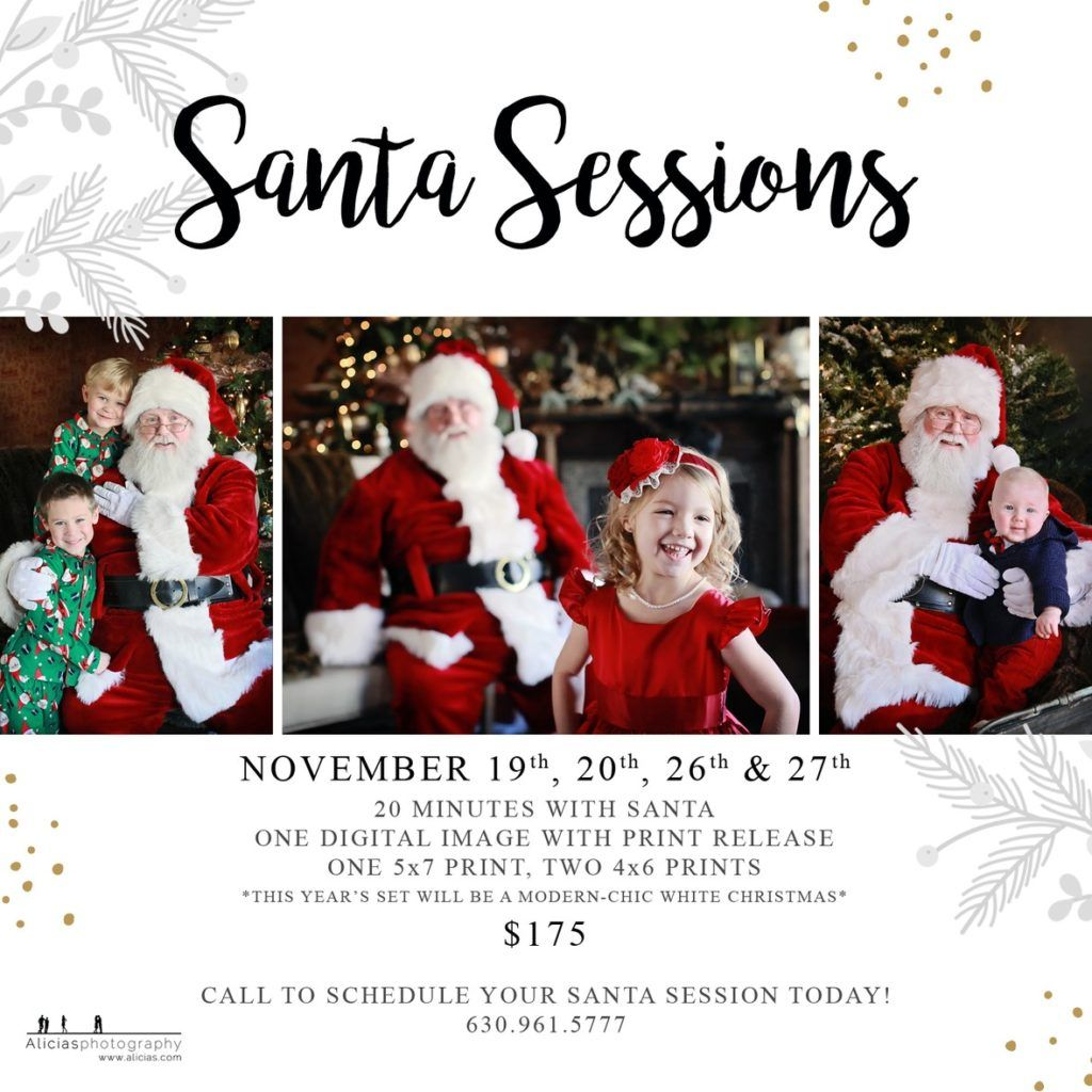 Santa Clause Mini Photography Sessions 2016 Naperville