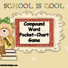 This Compound Word game works great in Pocket Charts and other Literacy Stations.  Students have to match-up two words to create a new word   (exampl...
