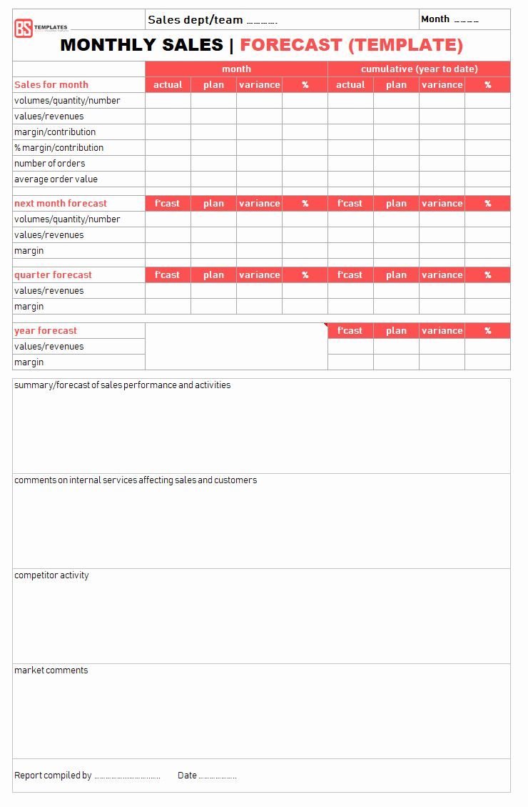 Spreadsheet Monthly Sales Report Then Templates And Weekly ...