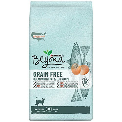 Purina Beyond Natural Dry Cat Food Grain Free Ocean Whitefish And