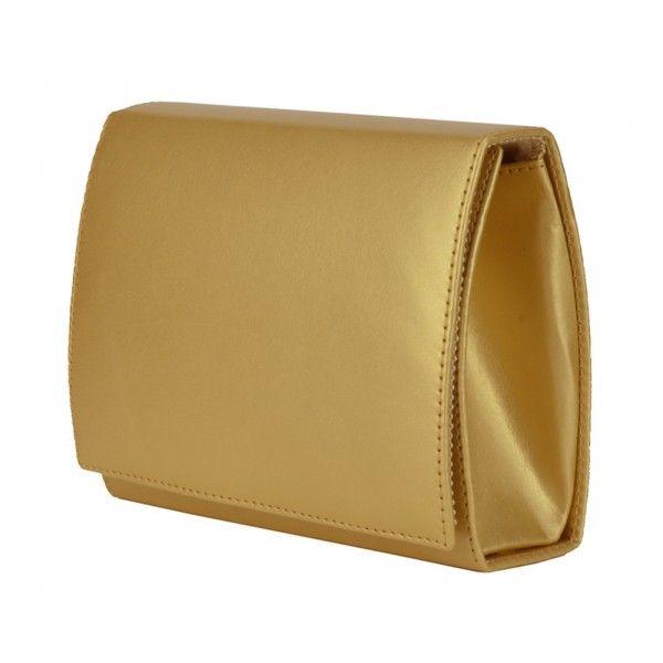 33e68b134 Bolsa de festa dourada, modelo clutch. Pode ser usada com alça tiracolo ou  como bolsa de mão. Clutch Dourada da Chá de Mulher